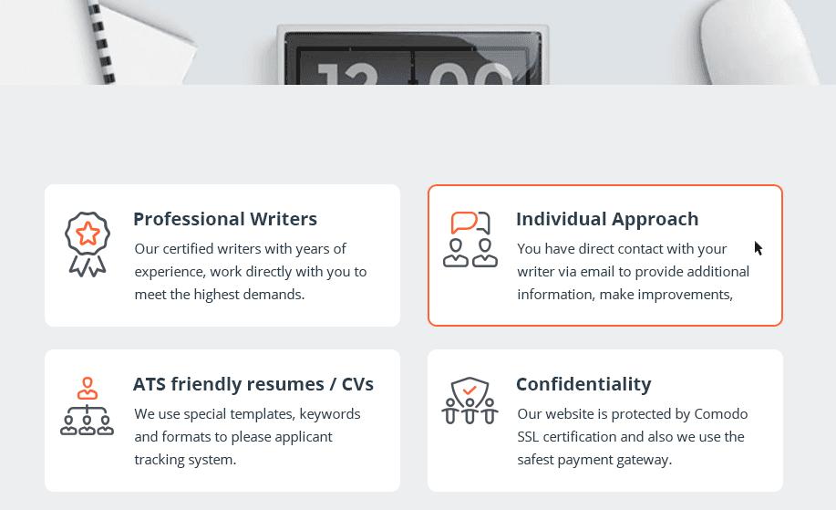 benefits of resume writing service