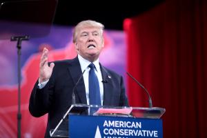 trump elections speech interview