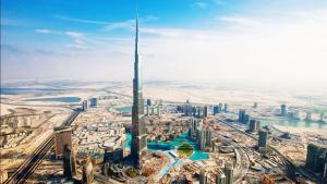 UAE business center scenery