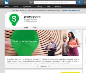business linkedin profile
