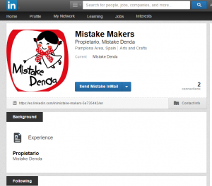 mistakes in business linkedin profile
