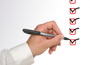 resume consultant checklist