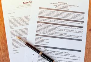 sales resume format