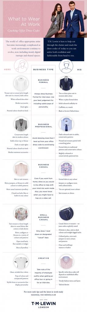 graphic interview dress code