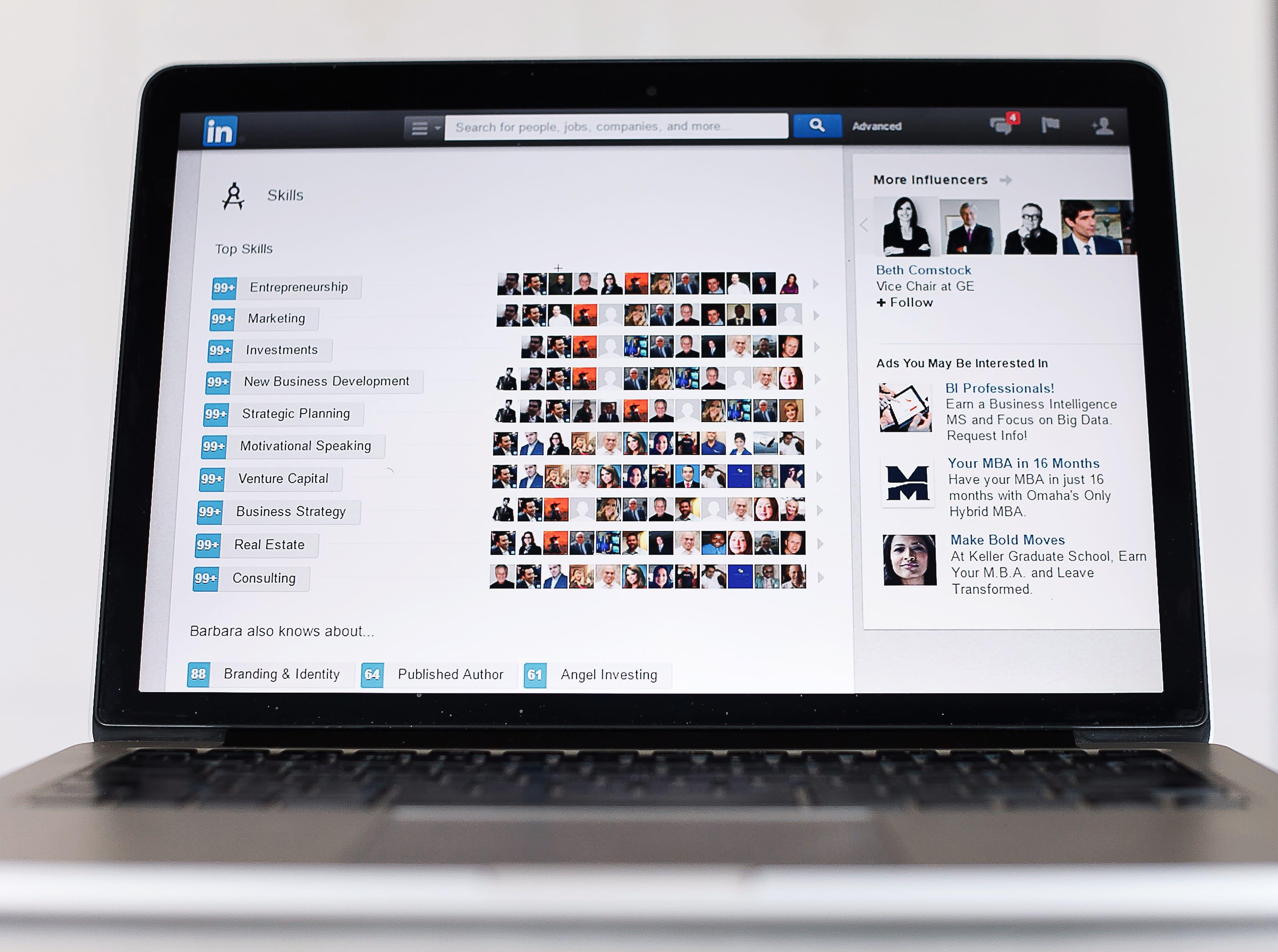 skills to list on LinkedIn