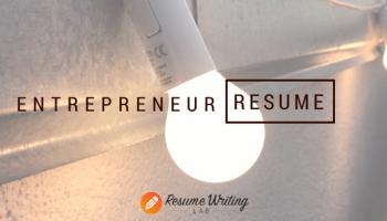 resume for entrepreneur