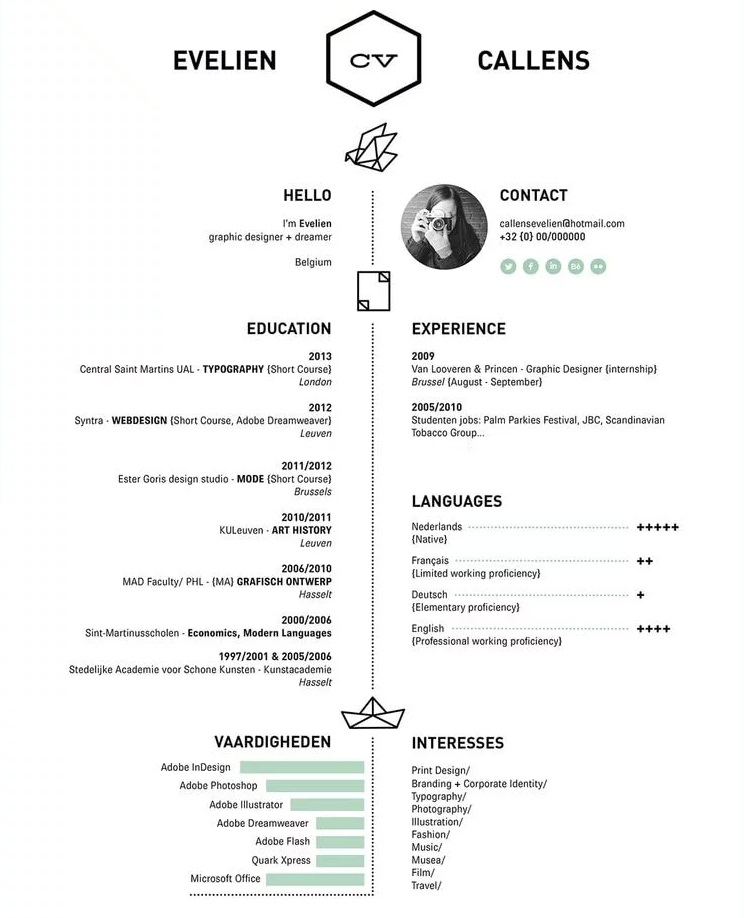 Get Creative with Your CV