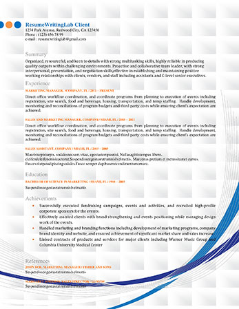 Best online resume writing services 2011